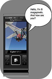 8 megapixel camera phone